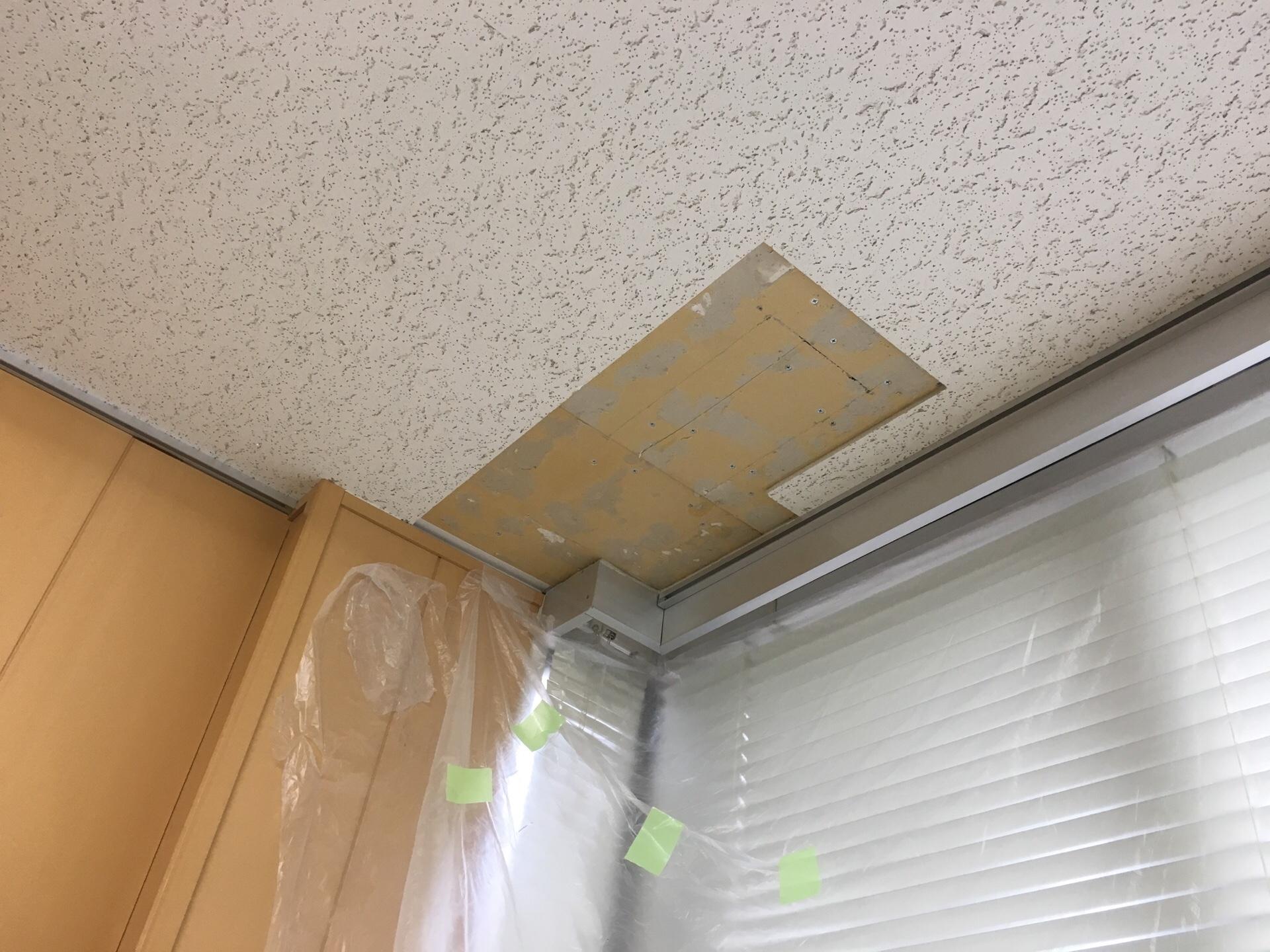 雨漏りした天井の張替え ケンシンのラッキーボーイK