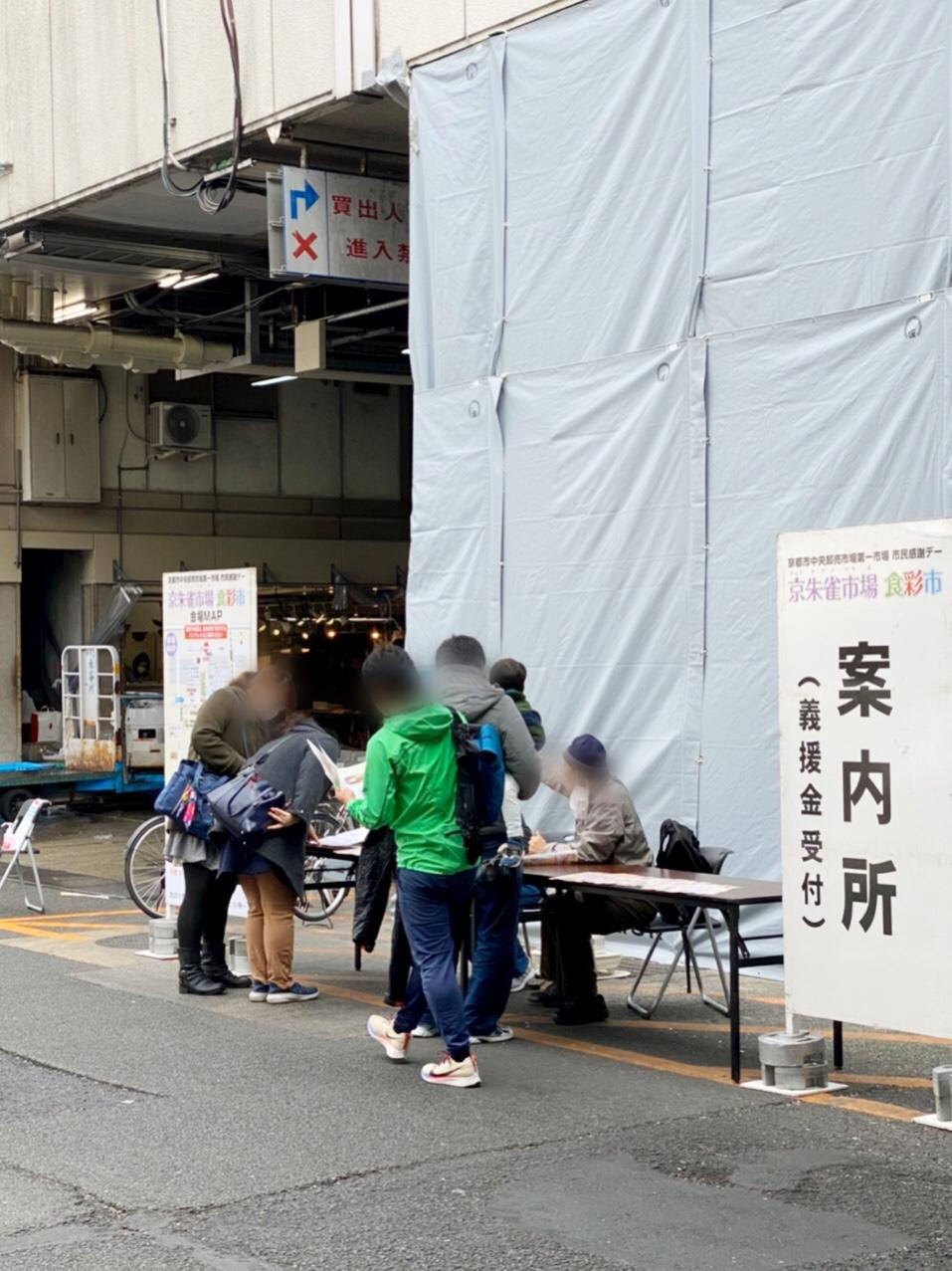 京都市中央市場 彩色市